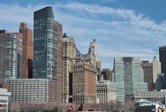 ny scrappersky york för stad Royaltyfri Bild