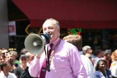 NY senator Chuck Schumer Stock Image
