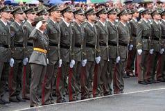 Ny serb officers-3 Royaltyfria Bilder