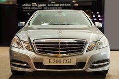 Ny serie Mercedes-Benz E-grupp Royaltyfri Fotografi