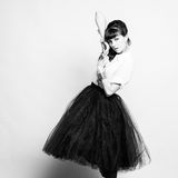 ny sexig ändrings-stående för härligt mode Arkivfoton