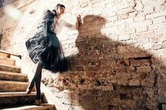 ny sexig ändrings-stående för härligt mode Royaltyfri Fotografi