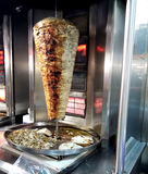 Ny shawarma Arkivbild