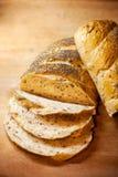 ny skiva för bröd royaltyfri foto