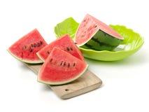 ny skivad vattenmelon Royaltyfri Fotografi