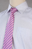 Ny skjorta med slipsen, studioskott Royaltyfri Foto