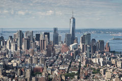 NY skyline Royalty Free Stock Photography