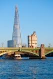 Skärvan i London 2013 Arkivfoto
