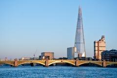 Skärvan i London 2013 Arkivbild