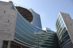 Ny skyskrapa i Milan, Italien Royaltyfria Bilder
