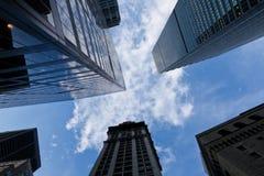 ny skyskrapa york Arkivbild