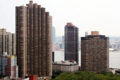 ny skyskrapa york för stad Arkivfoton
