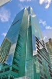 ny skyskrapa york för stad Arkivfoto