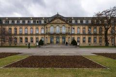 Ny slott för Das Neues Schloss Fotografering för Bildbyråer