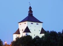 Ny slott i Banska Stiavnica, Slovakien Royaltyfri Fotografi