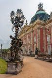 Ny slott i Potsdam Royaltyfria Bilder