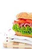 ny smörgås Arkivfoton
