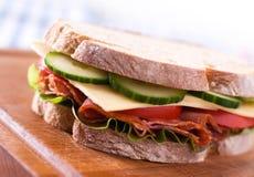 ny smörgås Fotografering för Bildbyråer