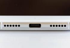 Ny snabb USB typ-cport Arkivbilder