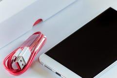 Ny snabb USB typ-cport Royaltyfria Foton