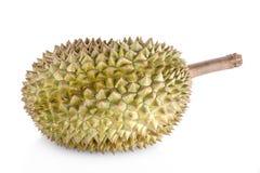 Ny snittKanyao Durian på vit bakgrund, en närbildsikt av durianen, Kanyao Durian Kan Yao Härlig Durian Arkivbilder