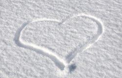 ny snow Arkivfoto