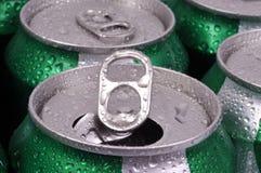 Ny sodavatten på burk fotografering för bildbyråer