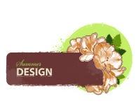 ny sommar för design Royaltyfri Foto