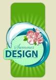 ny sommar för design Arkivfoton