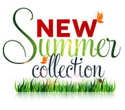 Ny sommarsamling, marknadsföringsaktion Royaltyfri Bild