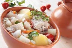 ny soup för baconkål Royaltyfri Bild
