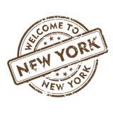 ny stämpel york Royaltyfria Bilder