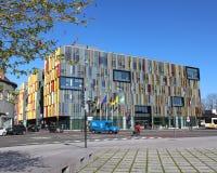 Ny stad Hall Aalst Arkivfoto