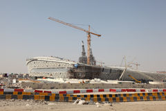 Ny stadion i Doha, Qatar Arkivbilder