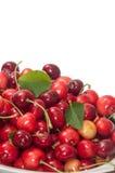ny stapel för Cherry Arkivfoton