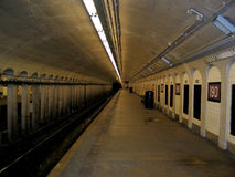 ny stationsgångtunnel york för stad arkivbild