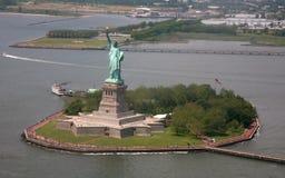 ny staty USA york för frihet arkivfoto