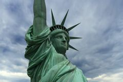 ny staty york för frihet Arkivbilder