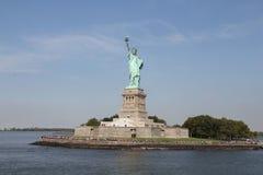 ny staty york för frihet Arkivfoto