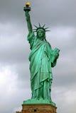 ny staty york för frihet USA Arkivfoto