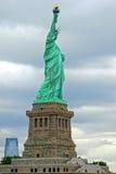 ny staty york för frihet USA Arkivfoton