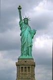 ny staty york för frihet USA Arkivbilder