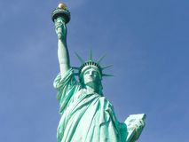 ny staty york för stadsfrihet royaltyfri foto