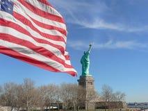 ny staty york för stadsfrihet arkivbild
