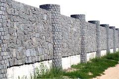 ny sten för staket royaltyfri bild