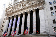 NY stock exchange Stock Images