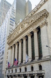 NY Stock Exchange, Wall Street Royalty Free Stock Images