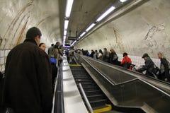 NY subway exit Stock Photos