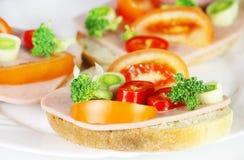 ny sund smörgås Royaltyfri Foto