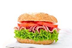 ny sund smörgås Arkivfoton